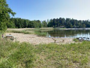 Ahlmansviken badplatd Arholma